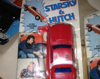 1975 Fleetwood Starsky & Hutch friction powered FORD Torino Vintage Racktoy MOC