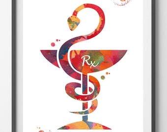 pharmacy symbol etsy