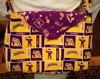 LSU  Tigers Cross Body bag