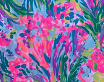FAN SEA PANTS Lilly Pulitzer Fabric 18x18 or 1 yard Spring 2017