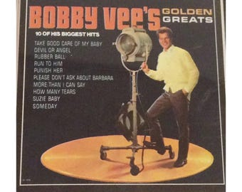 Bobby Vee's Greatest Hits Cassette Tape