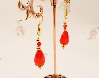 REDUCED! Exceptional vintage earrings unique!