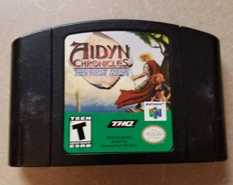Aidyn Chronicles The First Mage for N64 Nintendo 64
