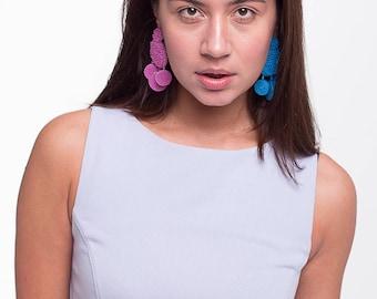 Flamenca earrings -PINK