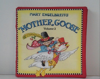 Mother Goose Toy Etsy