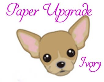 Paper Upgrade Media/Fountain Pen Friendly 25%cotton 24lb Ivory