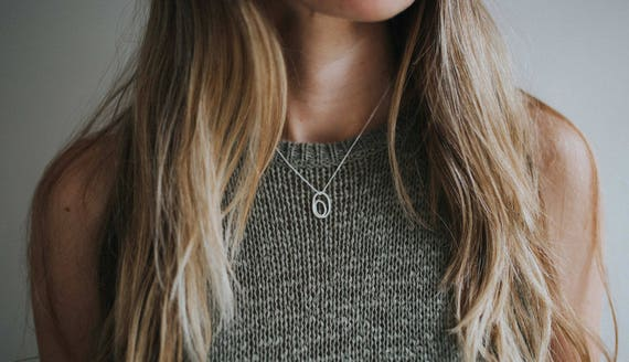 Still Loved Necklace in Sterling Silver