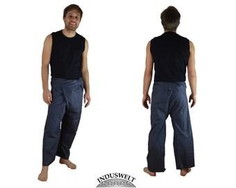 Thai Fisherman Pants Wrap Pants grey