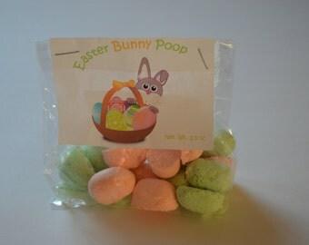 Easter Bunny Poop - Novelty Gift- Holiday Presents - Bath Bombs - Tiny Bath Bomb Gift - Easter Basket Filler