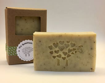 Basil, Sage, & Mint Bar Soap