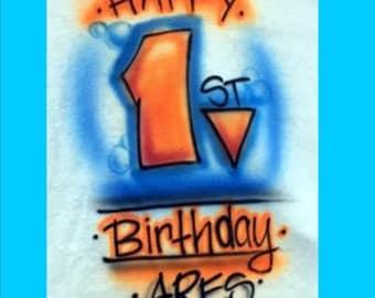 First birthday boy shirt, first birthday girl, first birthday outfit, first birthday invitation,  first birthday svg, first birthday hat