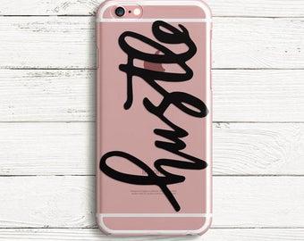 Hustle  iPhone 7, iPhone 7 plus, iPhone 6, iPhone 6 plus, iPhone 5  TPU Case
