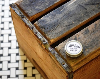 chest salve peppermint 2oz | handcrafted | all-natural | organic | essential oils