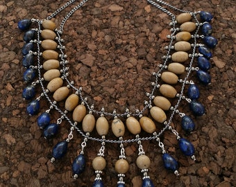 Natural handmade Jasper Necklace
