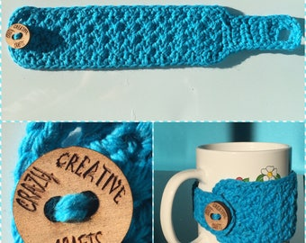 Crocheted Coffee Cozy/Mug Hug