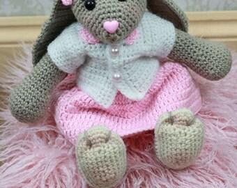 NEW!  Blossom Bunny Crochet Pattern