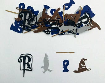 Ravenclaw inspired Confetti | House of Ravenclaw | Harry Potter | Luna Lovegood | Birthday Confetti
