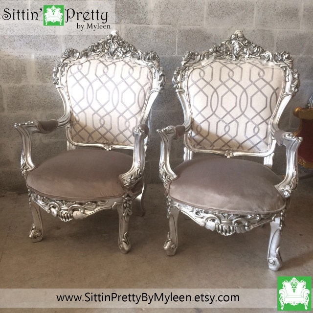 Antique chairs settees baroque rococo by for Baroque furniture usa