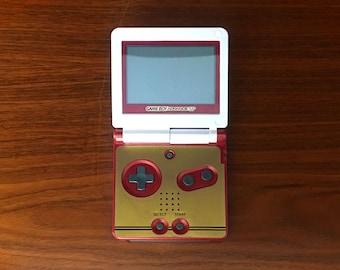 Game Boy Advance SP Famicom Club Nintendo Edition