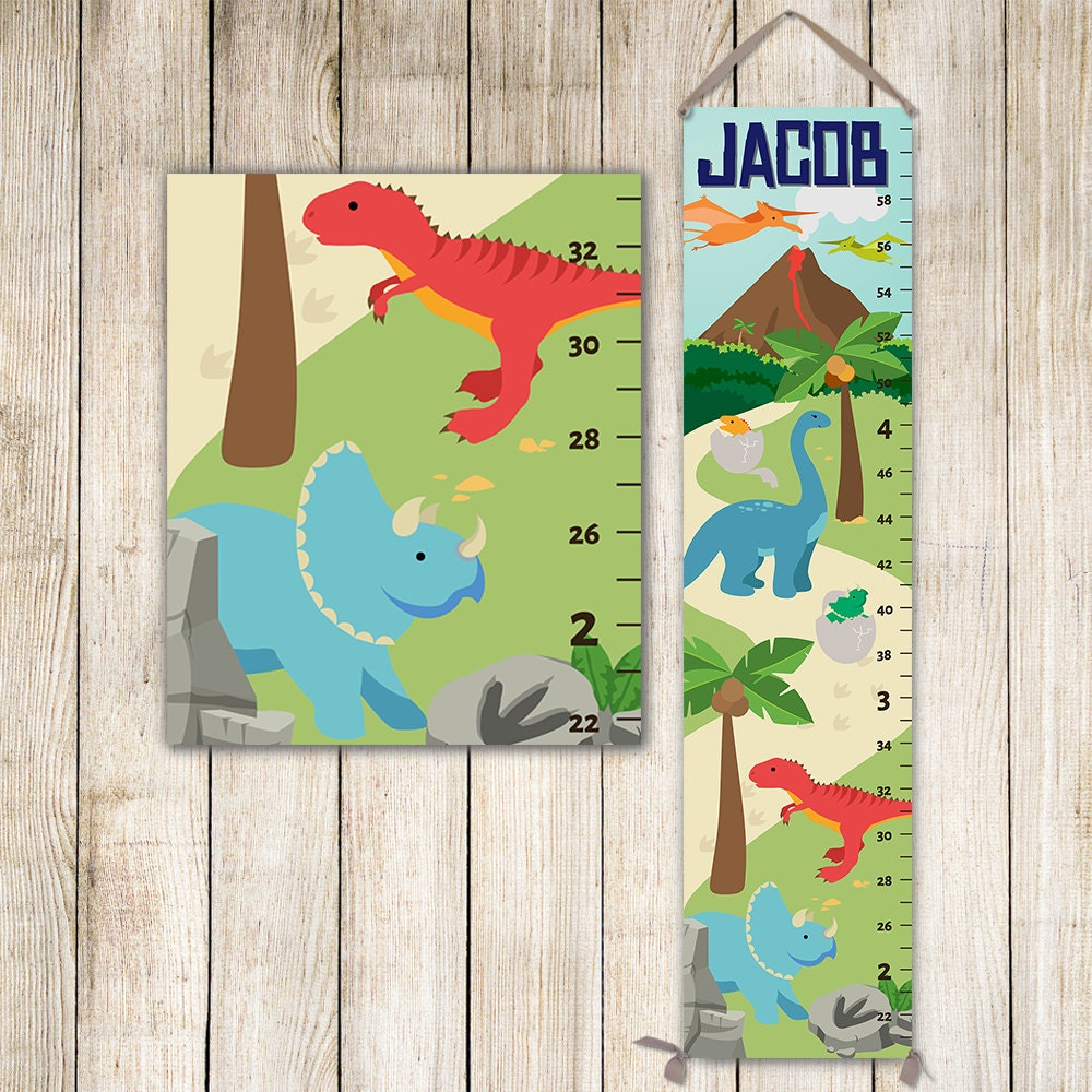 Dinosaur growth chart dinosaurs height chart dinosaur nursery jolieprints nvjuhfo Choice Image