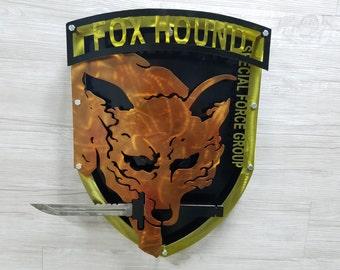 Metal Gear Solid Foxhound Logo 3D (Orginal version)
