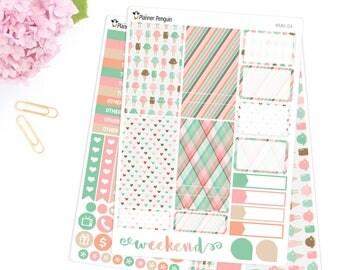 Ice cream dreams Mini kit Planner Stickers for Erin Condren Life Planner // #MK-4