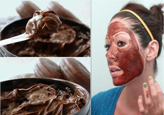 Chocolate face mask - Belgium Noir Chocolate face and body mask