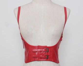 PU leather corset belt, waistband  #BLT17012