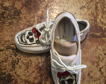 One Of A Kind Sperry Shoes!