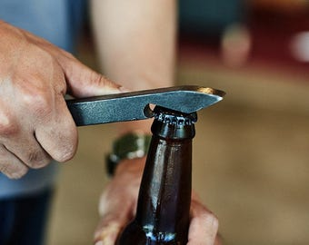 Free Shipping| Railroad Spike Bottle Opener| Gift for Him | Beer Lover Gift | Unique | Groomsman| Graduation | Ready to Ship