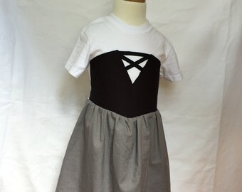 Sleeping Beauty-inspired Comfy T-Shirt Dress, sizes 4 and 5 (ages 4-5, 5-6)