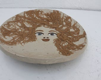 Art Handmade Studio Pottery By Natalie Surving 1975.