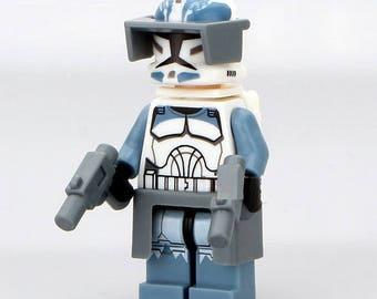 Wolfpack Clone Trooper Star Wars Custom Minifigure 100% Lego Compatible!