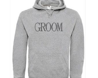 Groom Hoodie,  Groom Top, Wedding Hoodie, Groomsman, Groom, Wedding Top