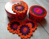 Brabantia Patrice Crochet coasters