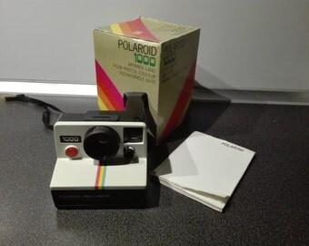 Polaroid 1000 land camera, boxed