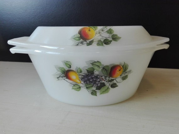 Arcopal casserole, Fruits de france, 21 centimeter