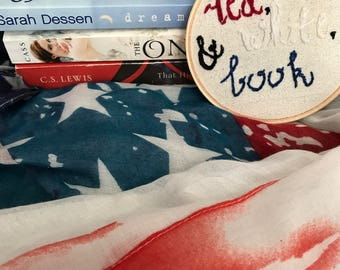 Red, White, and Book