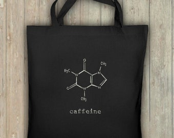 Pocket caffeine, shopping bag, glows in the dark! Bio bag