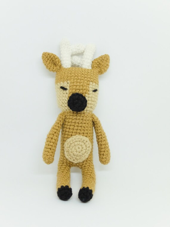 Amigurumi Deer : Deer/ Reindeer Stuffed Animal Crochet Amigurumi