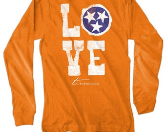 Live Oak Love Tennessee Long sleeve tee NEW