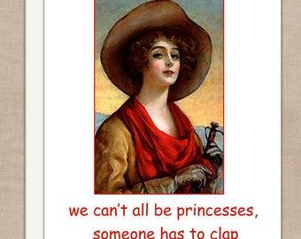 Friendship Princess Card