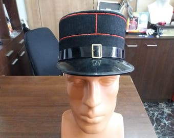 Vintage Swiss Fireman's Hat - Parade Hat