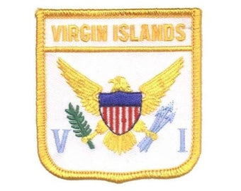 U.S. Virgin Islands Patch (Iron on)