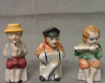 Occupied Japan and Japan Musical Figurines