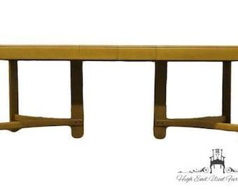 HEYWOOD WAKEFIELD Mid Century Modern 76″ Dining Table C3706 Wheat Finish