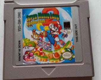Super mario land 2 for gameboy, gba