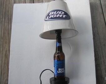 Bud Light beer lamp