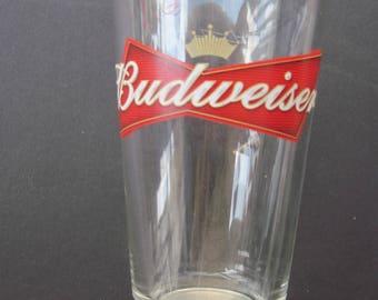Budweiser Drinking glass vintage