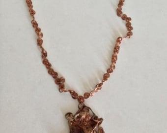 Copper Handmade Artisan Necklace